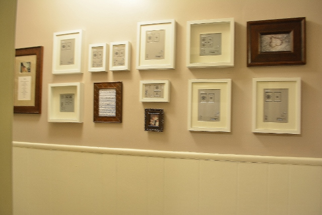 Our Intentional Gallery Wall (4/5)